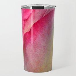 Blushing Pink Sun-kissed Tulip Travel Mug