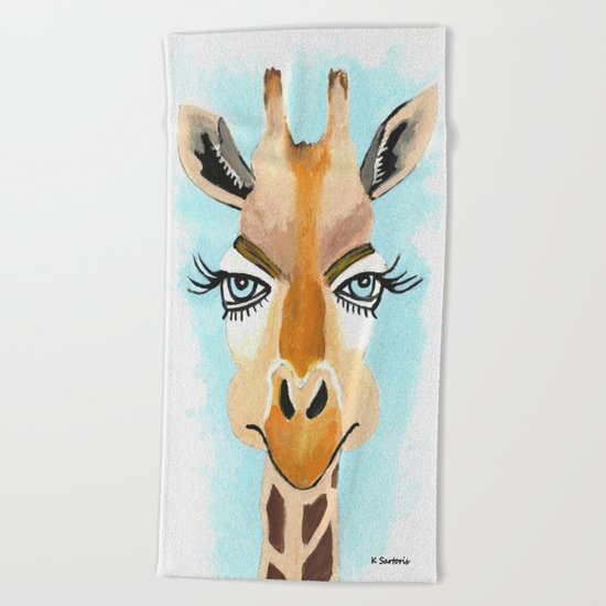 The Flirt Beach Towel
