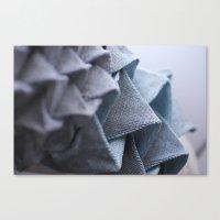origami Canvas Prints featuring Origami by Sasha Hocking / Adam Phillips