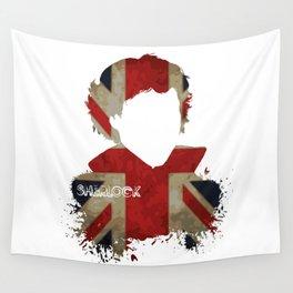 Sherlockian Union Jack Wall Tapestry