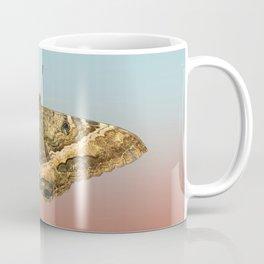 Black Witch Moth Coffee Mug