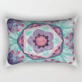 Egyptian Lotus 5 Star Rectangular Pillow