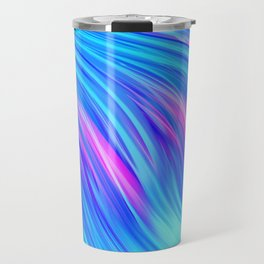 Waterfall,  abstract Travel Mug