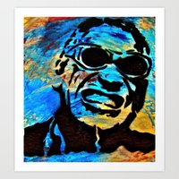 Ray Charles Alive.... Art Print