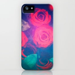 Rose Red iPhone Case