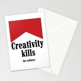 Creativity kills... Stationery Cards