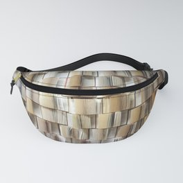 Open Books Library Bookworm Reading Fanny Pack