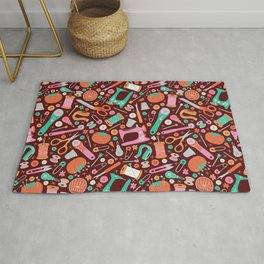 Sewing Notions Rug