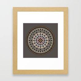 Grays & Browns Framed Art Print
