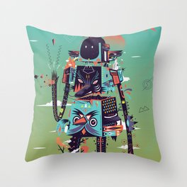 Totem Throw Pillow