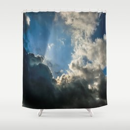Let Your Name Be Sanctified Shower Curtain