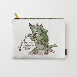 may your kaijus be merry and bright Carry-All Pouch