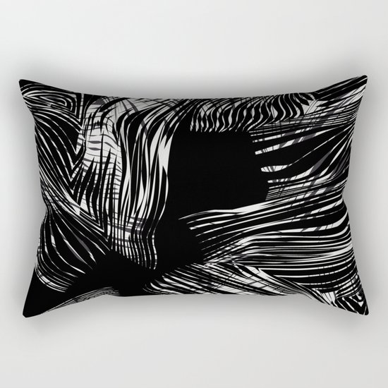 looking for darkness Rectangular Pillow