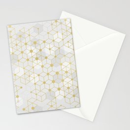 Deluxe Geometric Stationery Cards
