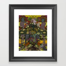 Ancient Seed Framed Art Print