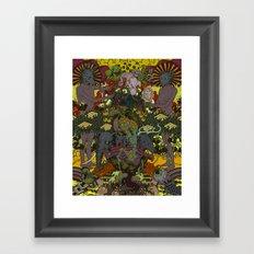 Ancient Seed Framed Art Print