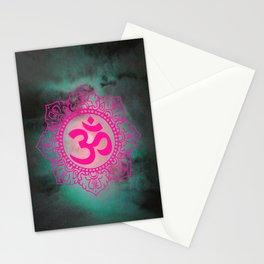Full Moon Om Stationery Cards