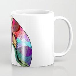 Nautilus Mandala Colour Coffee Mug