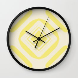 Medallion Lemon Verbena & Sweet Corn Wall Clock