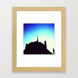 Church @ Kane St. Framed Art Print