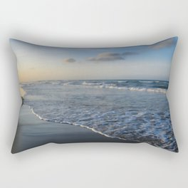 Summer sunset on the beach Rectangular Pillow