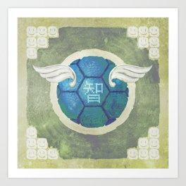 Troopa of Wisdom Art Print