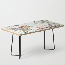 Enchanted Forest Chinoiserie Coffee Table