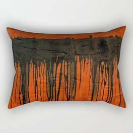 Weeping earth Rectangular Pillow
