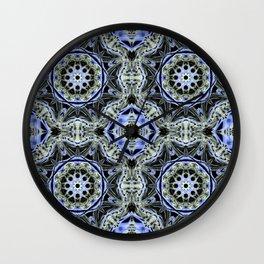 Turkish Floor Tile #2 Wall Clock