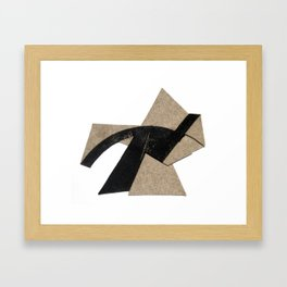Traversal Framed Art Print
