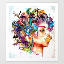 Internal Flux Art Print