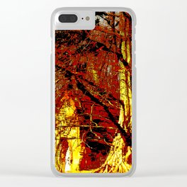 House in the Woods Clear iPhone Case