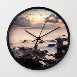Let It Linger Wall Clock