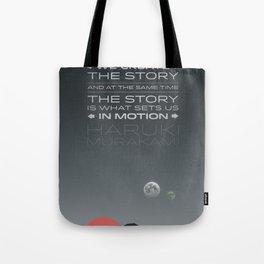 1Q84 Tote Bag