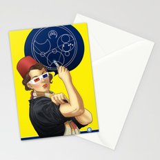 Whovian feminism Stationery Cards