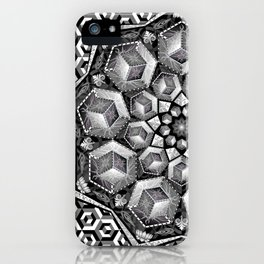 Isometric aspirations iPhone Case