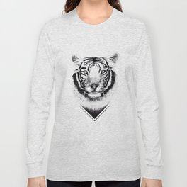 Confused Tiger Long Sleeve T-shirt