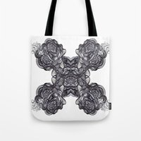 depression Tote Bags featuring Depression  by Jmele