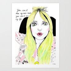 ARTPOP ERA IV (DO WHAT U WANT)  Art Print