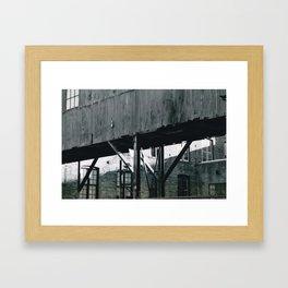 Canal Street Framed Art Print