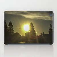 airplanes iPad Cases featuring Airplanes & Sunshine  by Liese May Photography