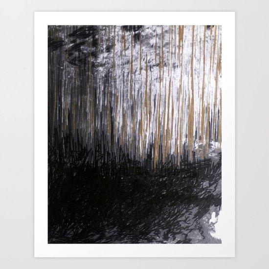 Cave Drawing VI Art Print