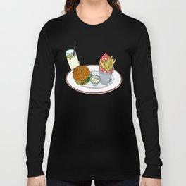 Burger, Chips and Lemonade Long Sleeve T-shirt