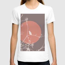 Bird on a branch 2 T-shirt