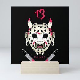 Jasonosan Friday the 13th Mini Art Print