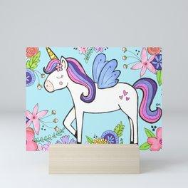Magical Unicorn Mini Art Print