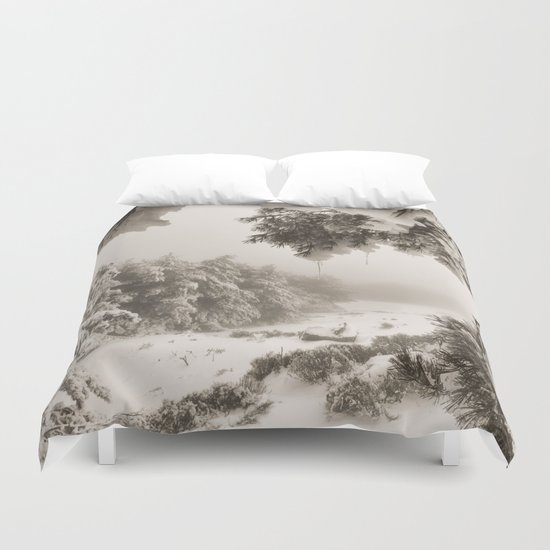 """""""Snow forest"""". At the mountains... Duvet Cover"""