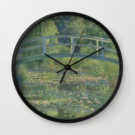 Claude Monet The Liliy Water Pond Wall Clock