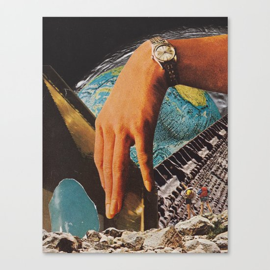 pile of spare parts... Canvas Print