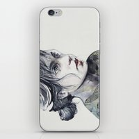 dragonfly iPhone & iPod Skins featuring Dragonfly by agnes-cecile
